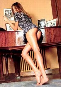 Carla gauging topless — img 15
