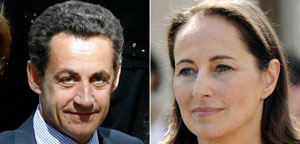 Sarkozy and Royal